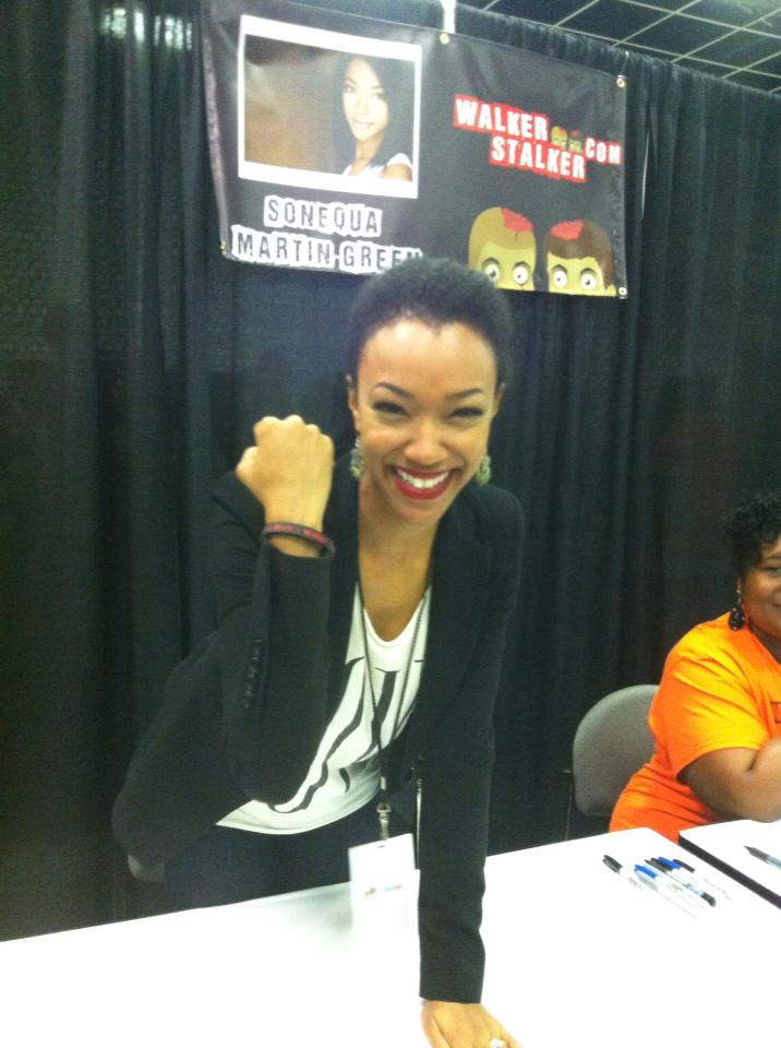 Sasha wearing one of our wrist bands